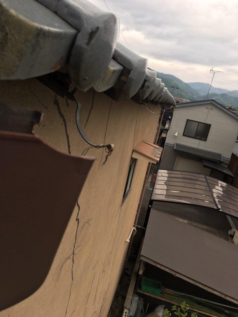京都市左京区 台風被害 自己負担なし工事