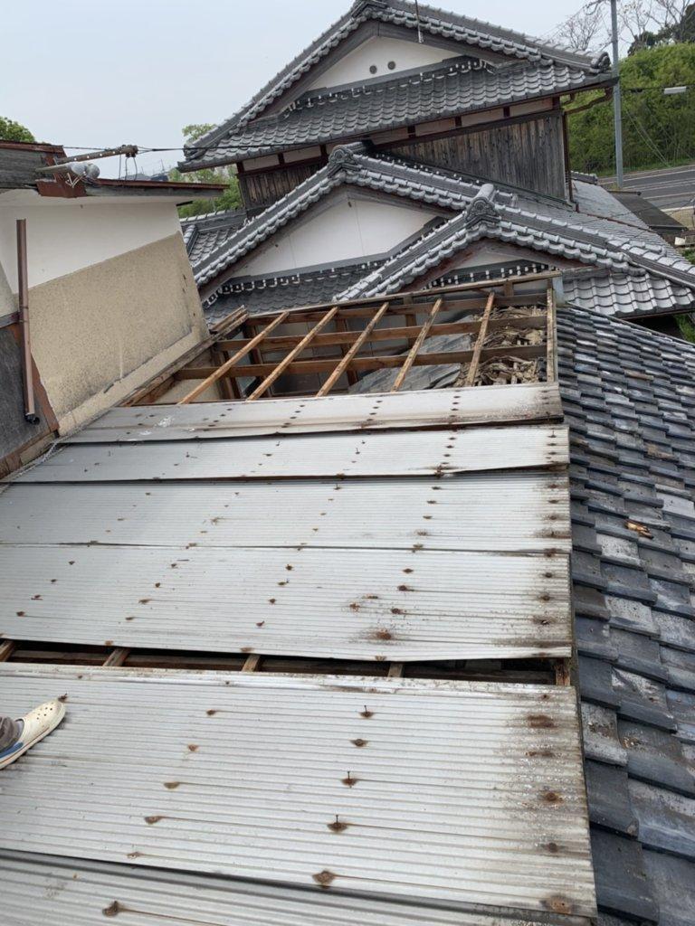 滋賀県守山市 台風21号被害 無料修繕工事