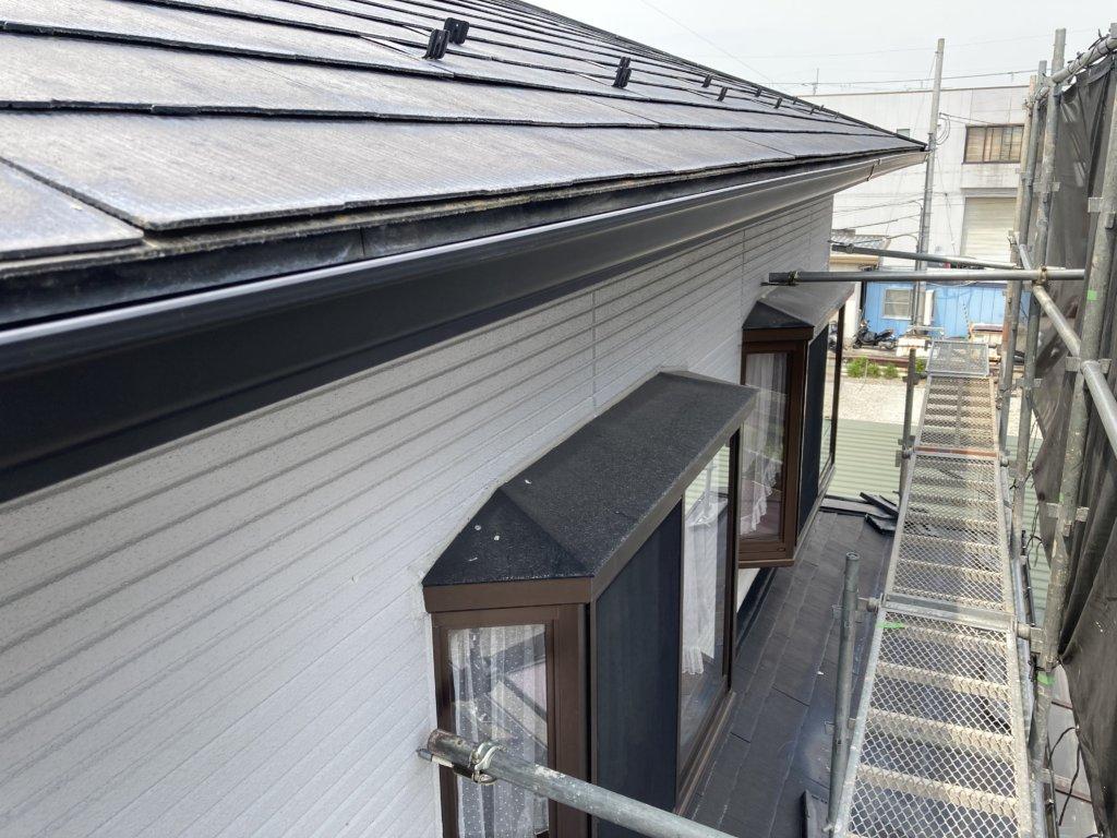 滋賀県東近江市能登川付近 火災保険適用工事 完成写真