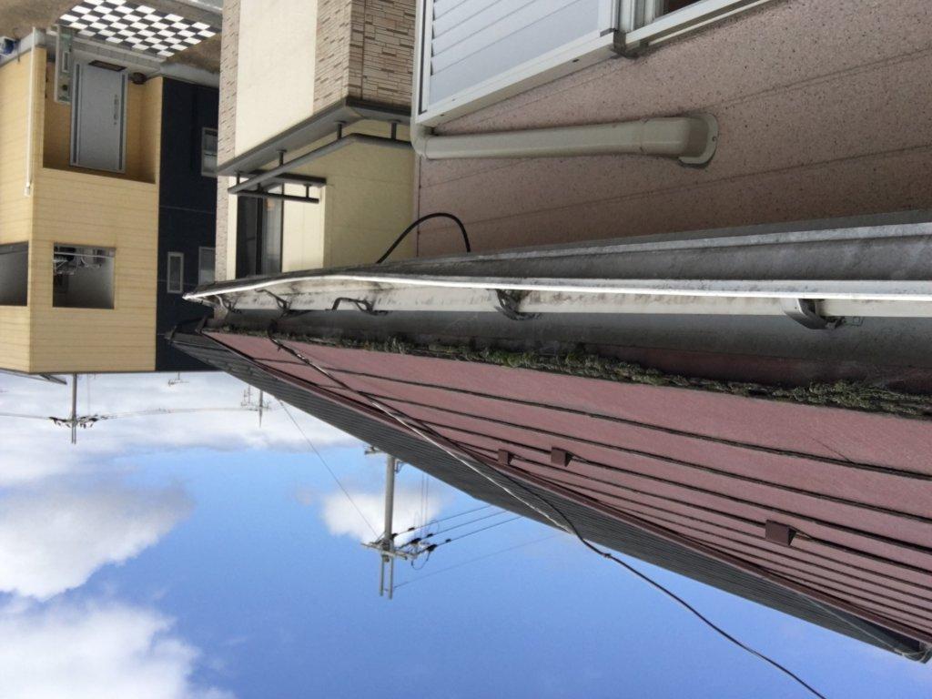 滋賀県愛知川愛荘町愛知川 台風被害写真 火災保険適用工事 日本建宅