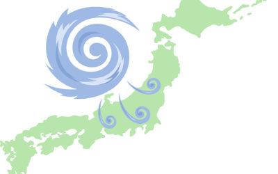 台風前にやっておきたい準備・対策についてお話しします!!!
