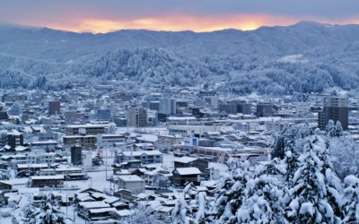 今回は滋賀県東近江市内で積雪の影響で被害が出たお家の現地調査を致しました!