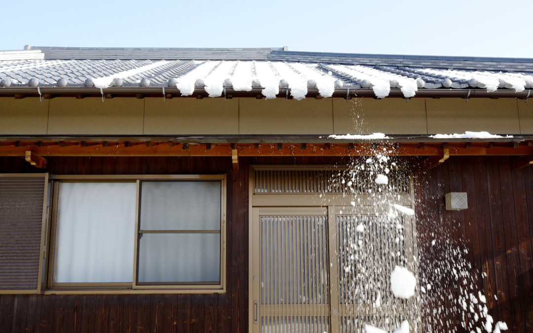 今回は福井市内で積雪の影響で被害が出たお家の工事を致しました!積雪被害でも火災保険で0円工事可能!