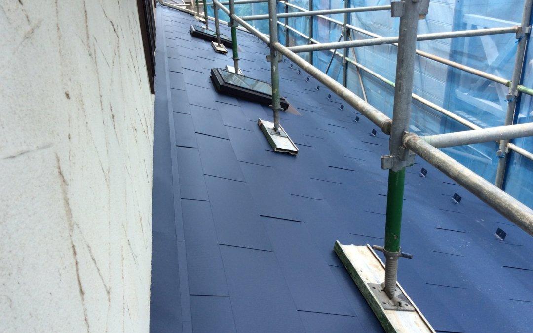 今回は京都市内で発生した台風の影響で被害を受けたご自宅を火災保険を活用し修繕工事