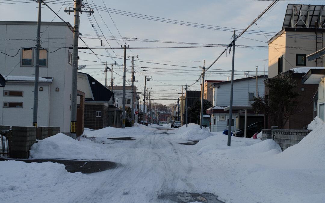 本日は滋賀県甲賀市内で積雪の影響で被害が出たお家の現地調査を致しました!