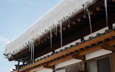 雨樋を長持ちさせるには雨樋の点検が重要です!!積雪被害でも火災保険で0円工事可能!